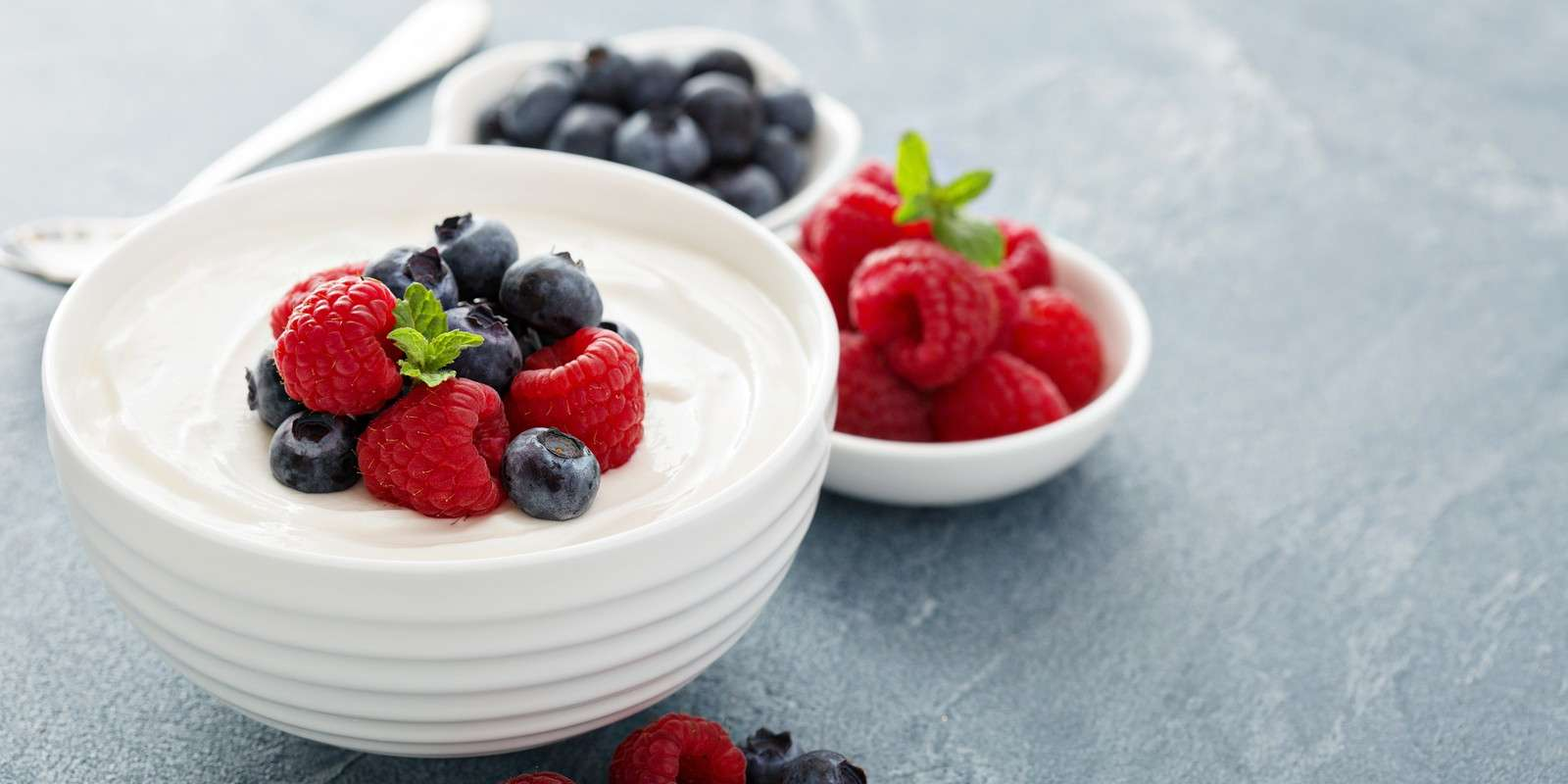 Coconut Yogurt with Berries