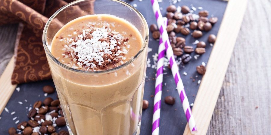 Coffee Banana Morning Shake