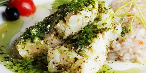 Oven Baked Tilapia With Pesto