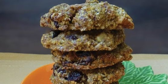Carrot Cake Energy Cookies