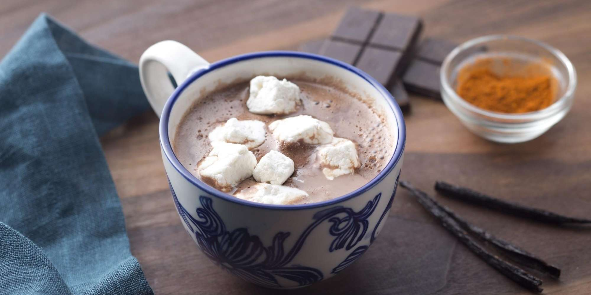 Maca Mexican Hot Chocolate