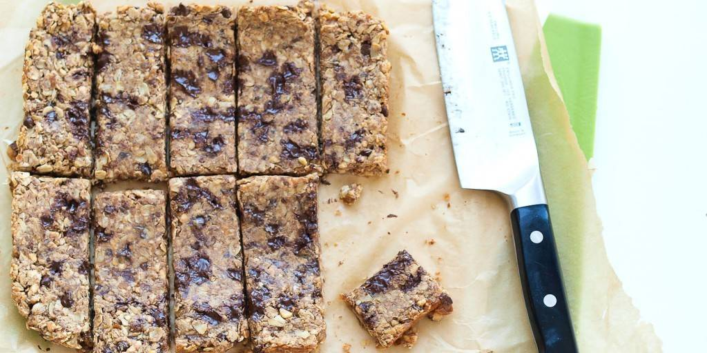 Chewy Almond Butter Granola Bars