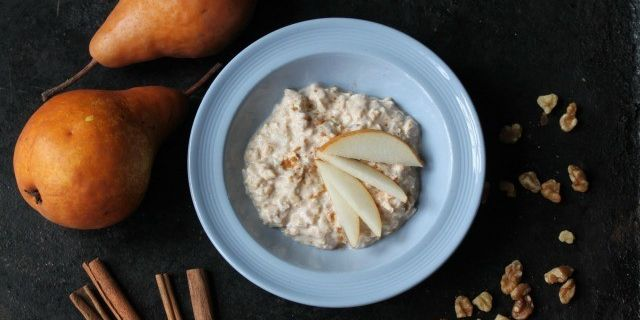 Ginger Pear Overnight Oats