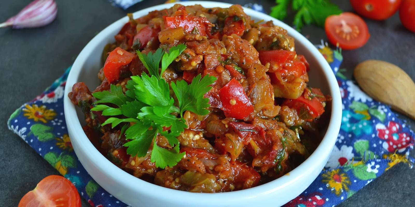 Indian Spiced Eggplant and Potato Stew