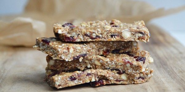 Homemade Trail Mix Granola Protein Bars
