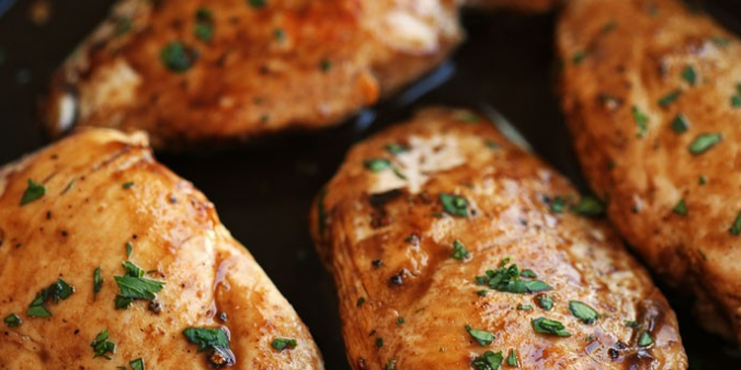 Maple Balsamic Herb Chicken