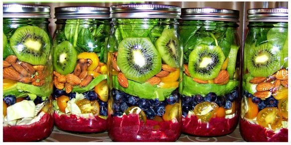 Paradise in a Jar Salad