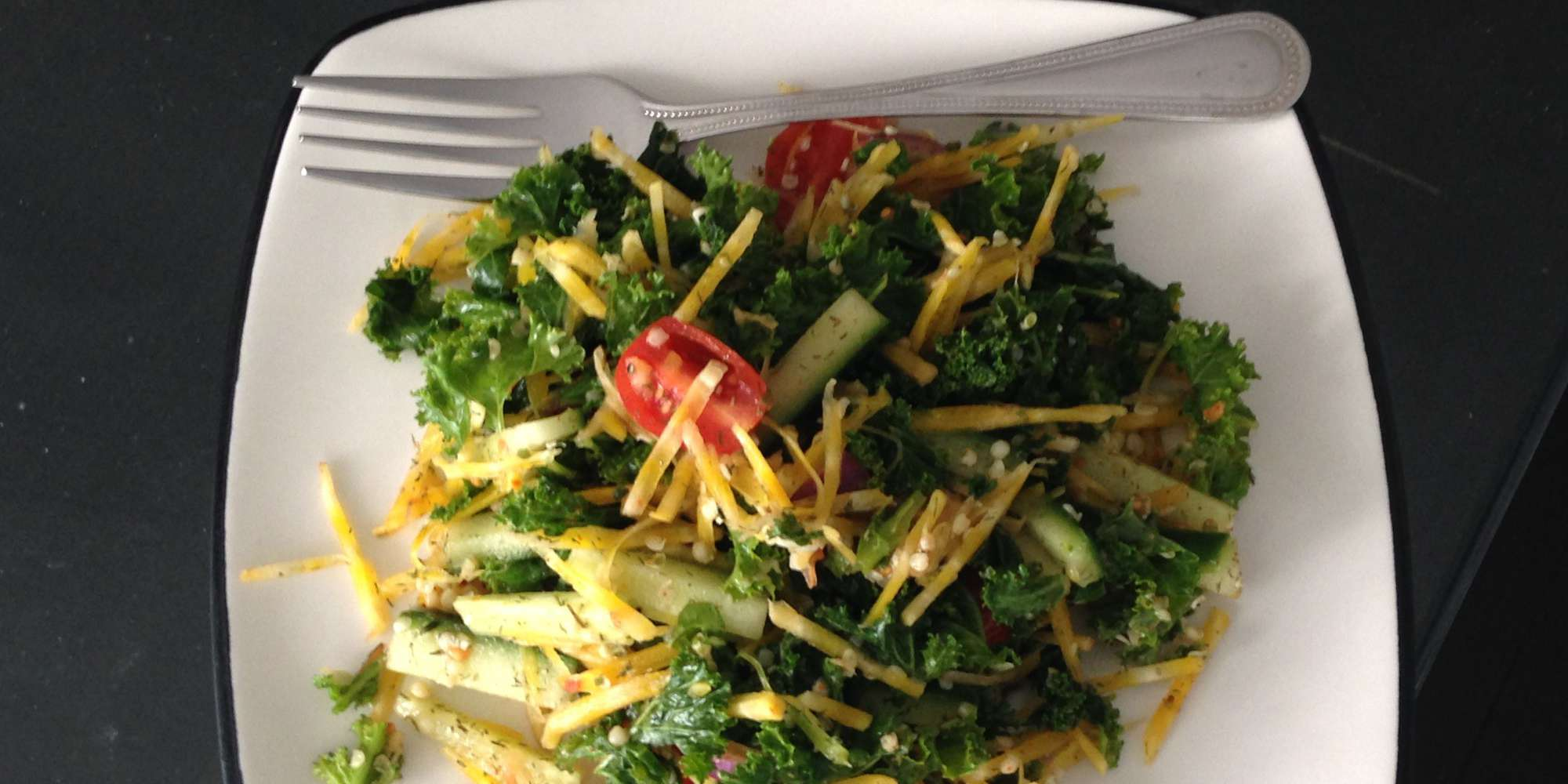 Golden Beet and Kale Salad