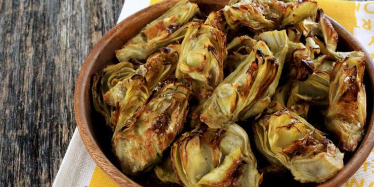 Perfectly Roasted Jerusalem Artichokes