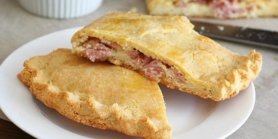 Low Carb Ham & Cheese Calzones