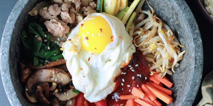 Low Carb Korean Bibimbap