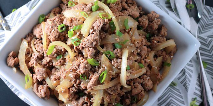 Low Carb Easy Korean Bulgogi