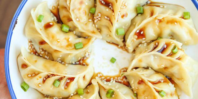 Pork & Ginger Dumplings