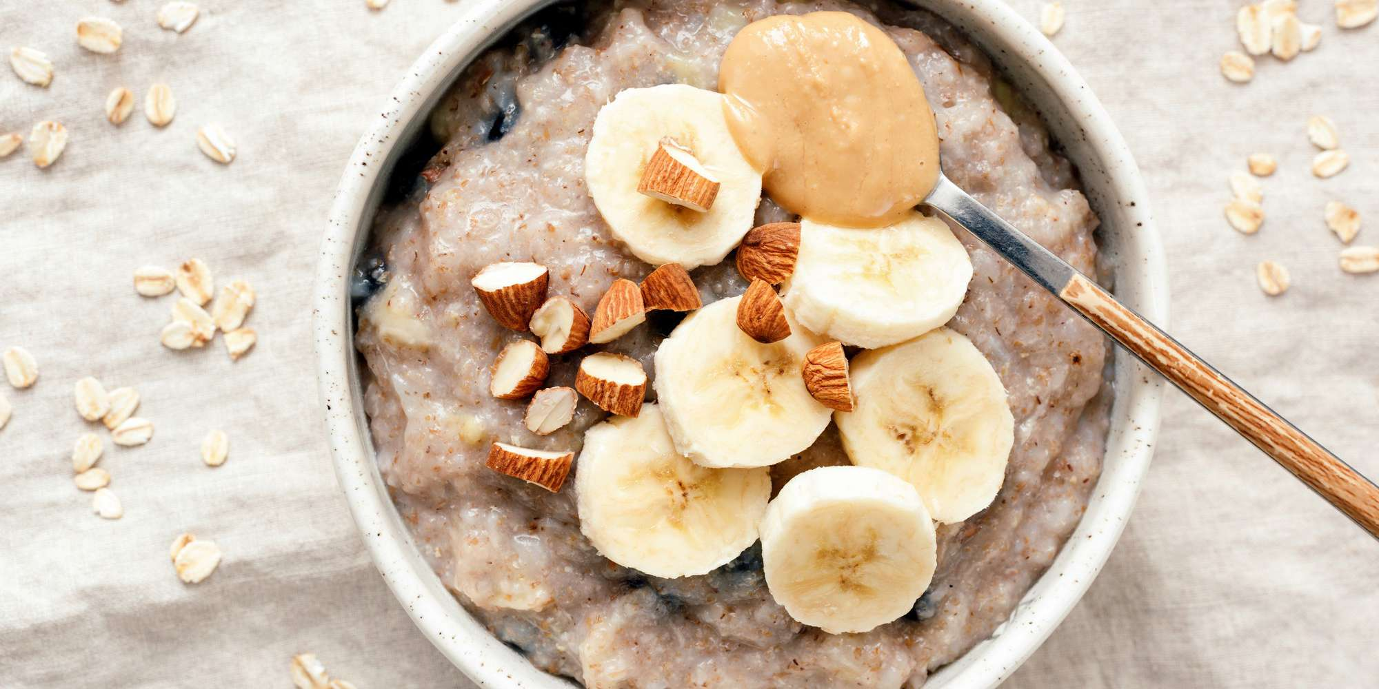 Apple Banana Peanut Butter & Honey Oatmeal