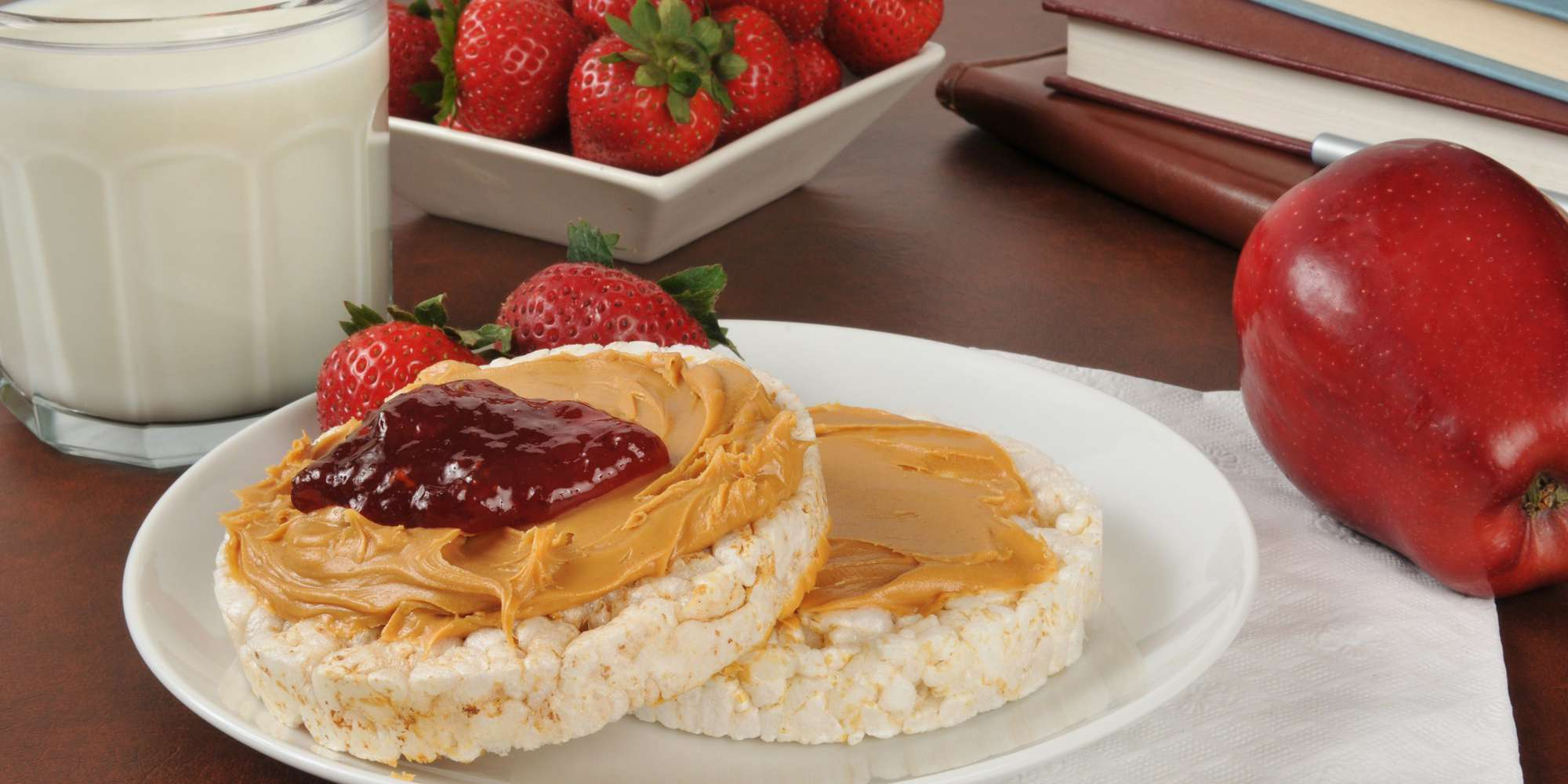 Rice Cake with Almond Butter