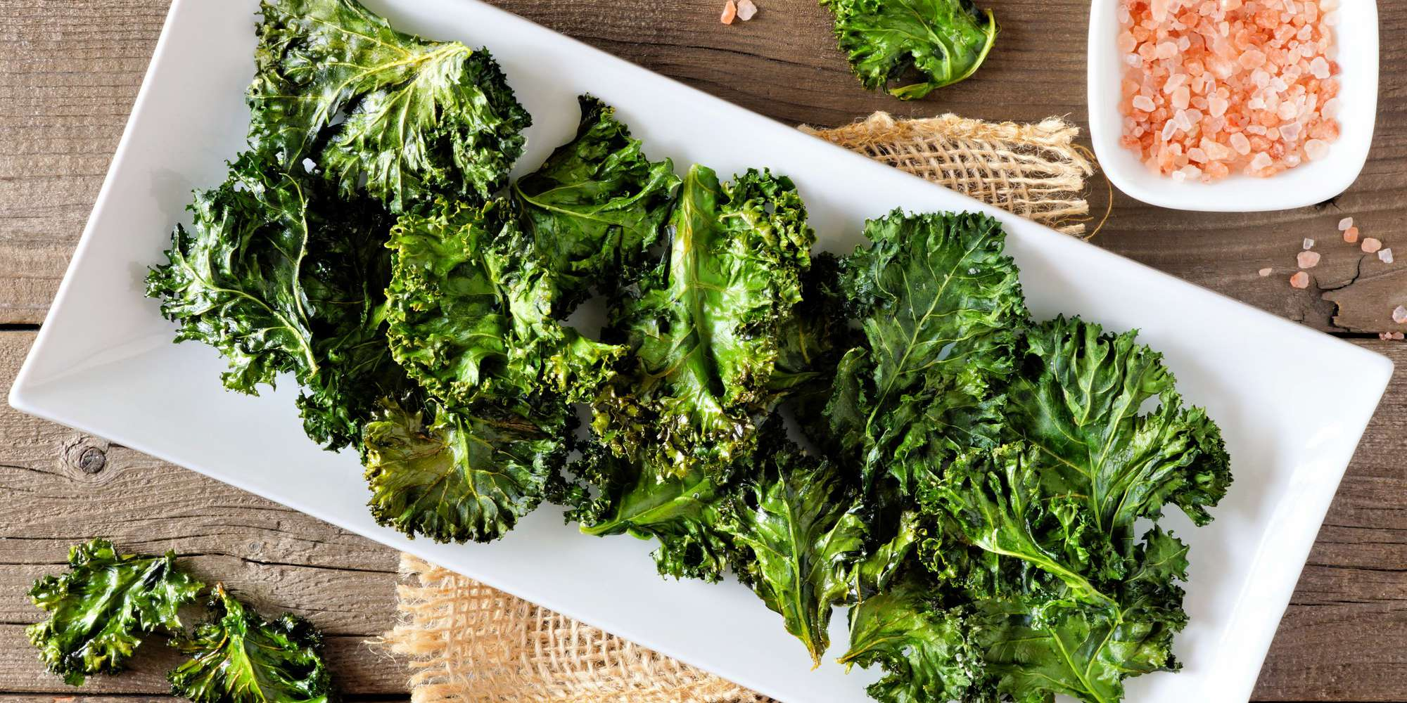All Dressed Kale Chips