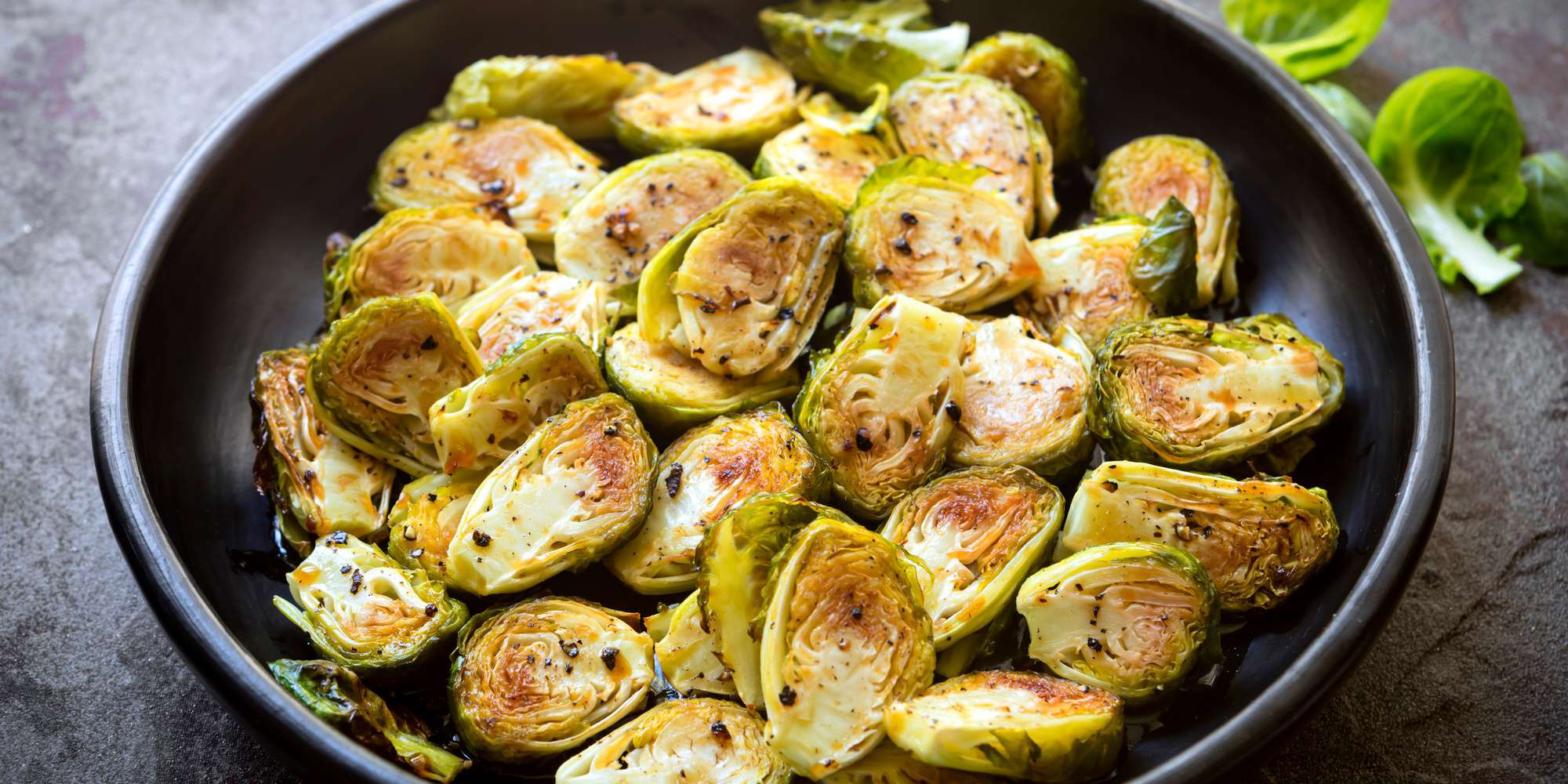 Asian Inspired Roasted Brussels Sprouts