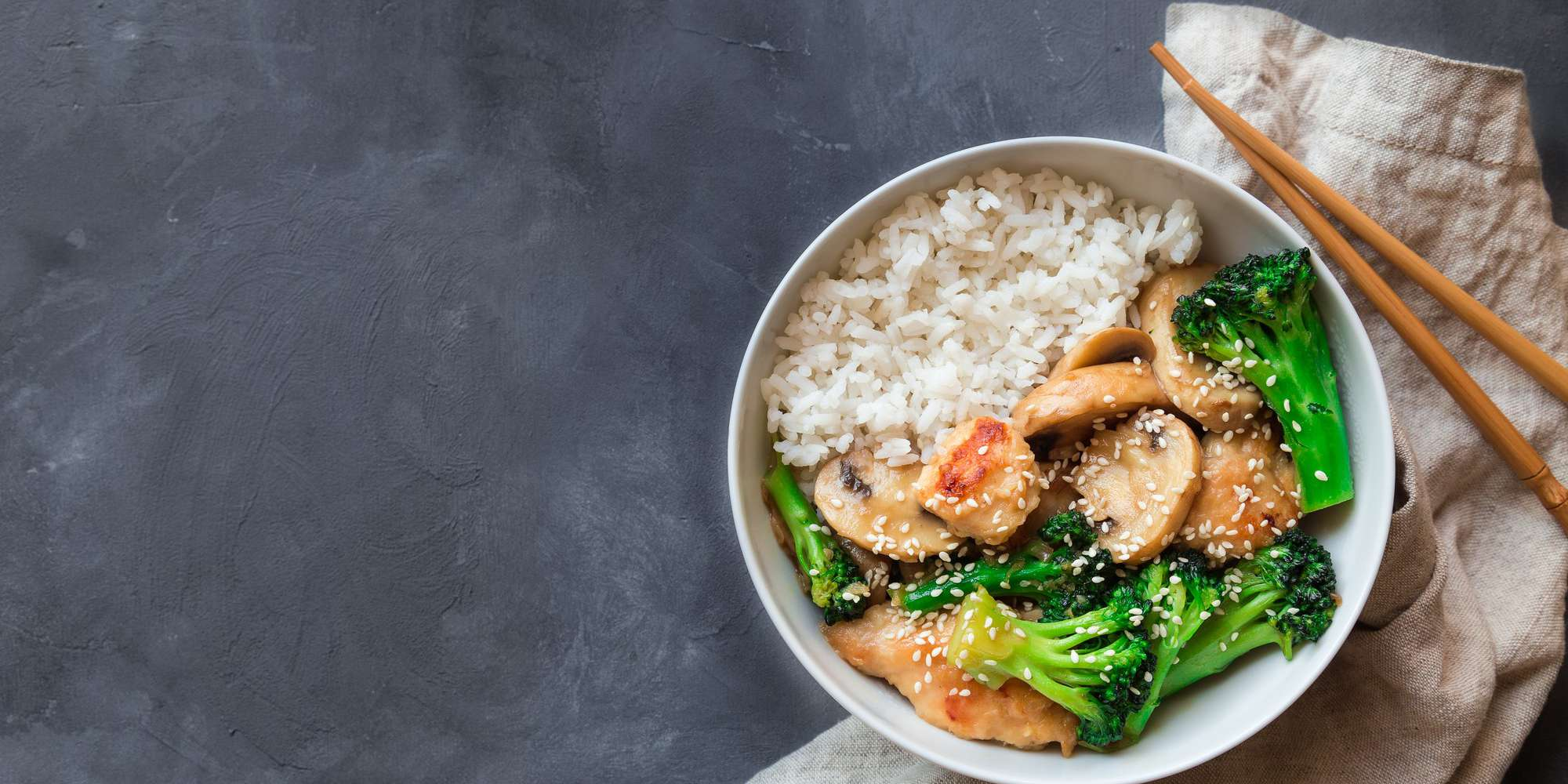 Sweet & Sour Chicken with Steamed Broccoli