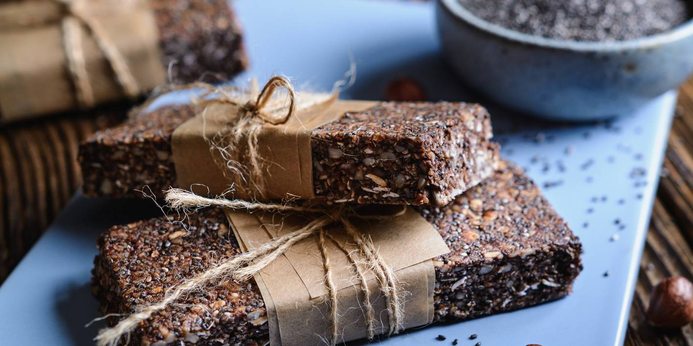 Chocolate Hazelnut Butter Protein Bars