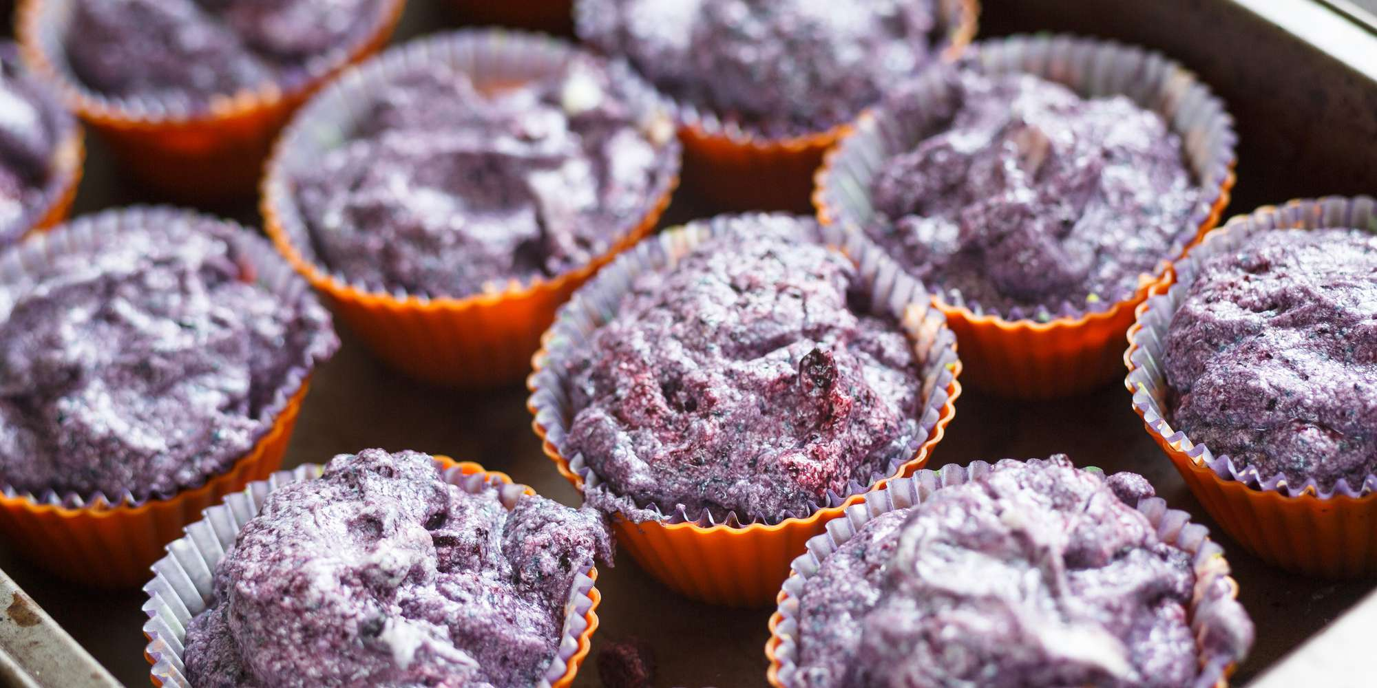 Gluten-Free Double Blueberry Muffins