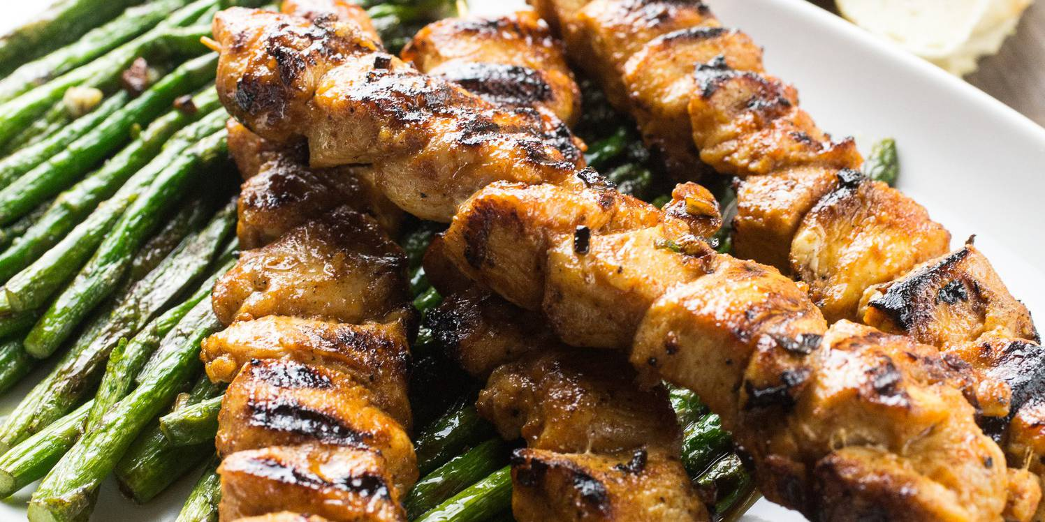 Chicken and Asparagus Skewers