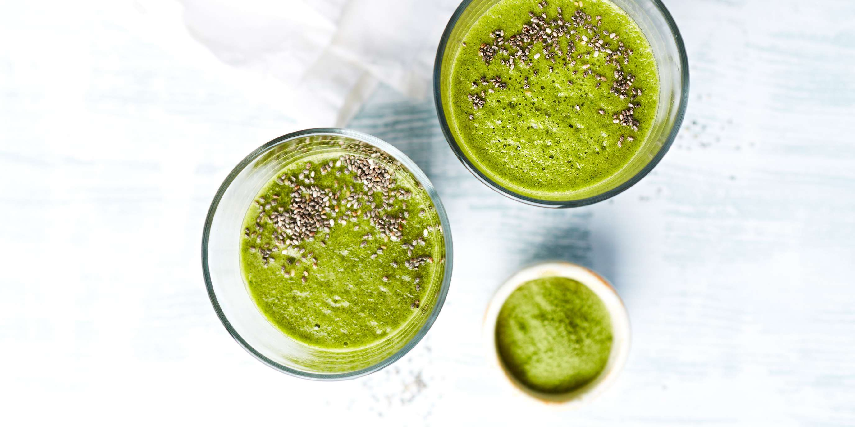 Barley Grass Berry Smoothie