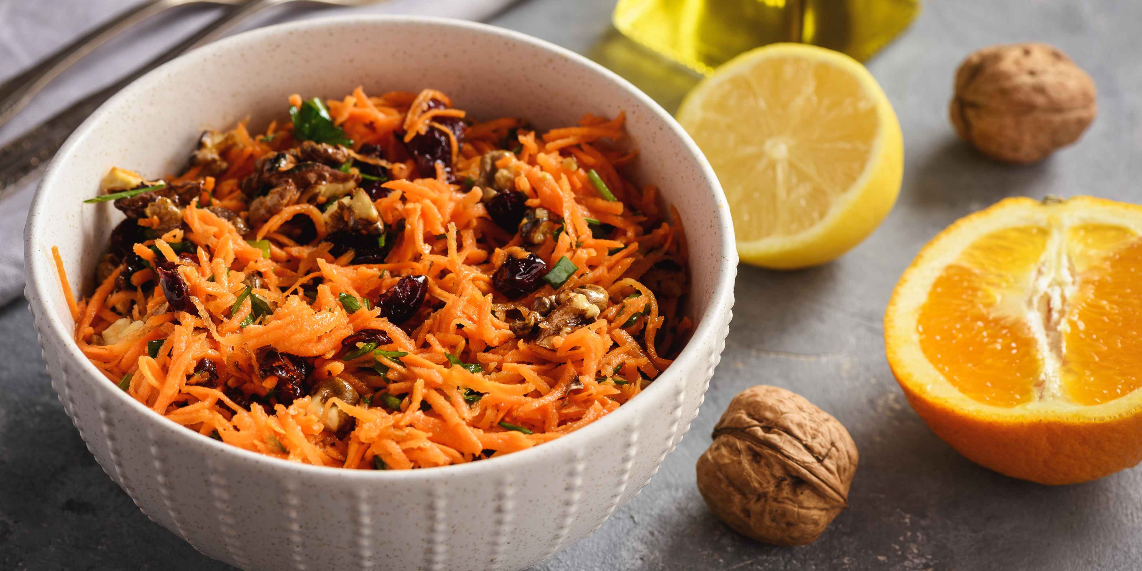 Turmeric-Curried Golden Carrot Slaw