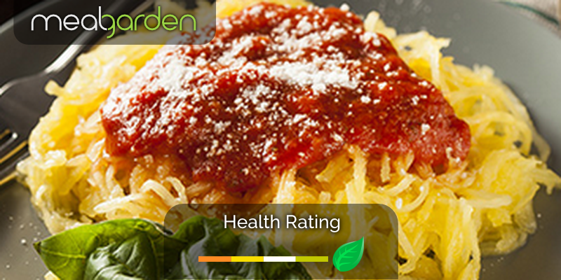 Spaghetti Squash with Rosé Sauce & Ricotta - MealGarden